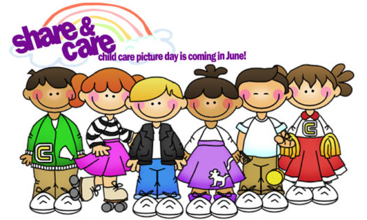 picture day at share & care child care